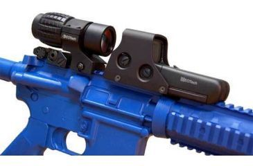 L3 EOTech HWS 4x Magnifier with FTS Flip To Side Mount