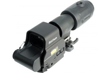 1-EOTech MPO III EXPS2-2 Holosight with G23 3X Magnifier - Circle 2-Dot Reticle, non-NV compatible