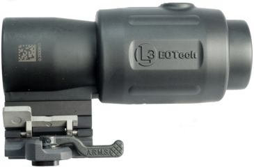7-EOTech MPO III EXPS2-2 Holosight with G23 3X Magnifier - Circle 2-Dot Reticle, non-NV compatible