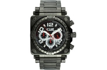 Equipe E312 Gasket Mens Watch - All Black - White Numbers