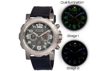 Equipe Tritium Rivet Mens Watch, Grey-Silver-Black EQUET202