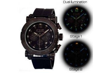 Equipe Tritium Stud Mens Watch, Black EQUET503