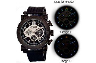 Equipe Tritium Stud Mens Watch, Black-Multicolor EQUET504