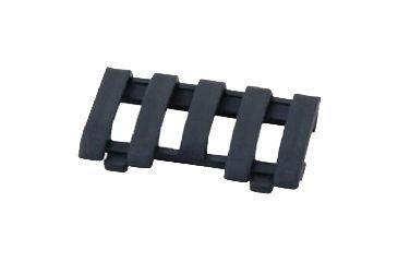 Ergo Grip Lowpro 5-slot Picatinny Rail Wire Loom, Black 4380-BK