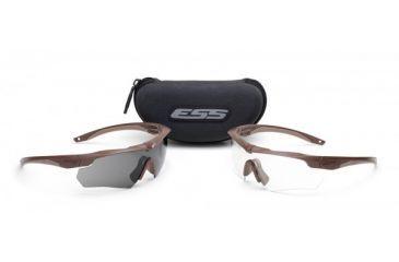ESS Crossbow 2X Eyeshields Coyote Brown Frames 740-0463