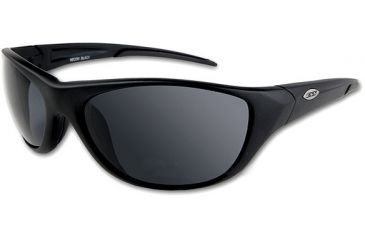 ESS Recon High Adrenaline Sunglasses with Small Black Frame and Smoke Gray Lenses 740-0304