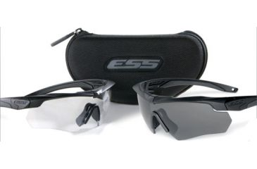 4b55e90af90 ESS Crossbow 2X Eyeshields - Two Pairs Crossbow Frames Clear Smoke ...