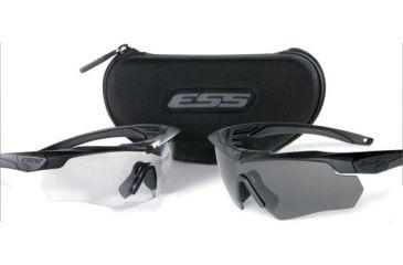 d29b5702aa46 ESS Crossbow 2X Eyeshields - Two Pairs Crossbow Frames Clear Smoke ...