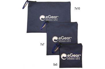 Essential Gear Essentials Bag, Medium w/ biner, 7 x 7 in. EG152-7X7