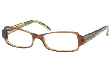 Exces 3063 Eyewear with 604 Black-Mottled Brown Frame