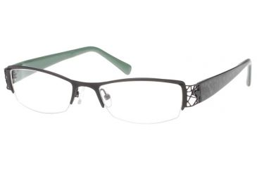 Exces 3065 Eyewear 731 Matte Black-Green Frame