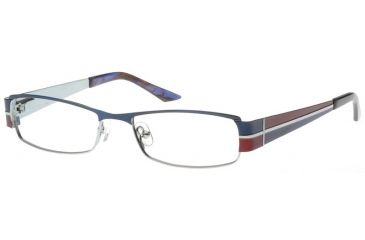 Exces 3066 Eyewear 592 Navy-Burgundy Frame