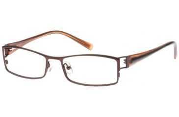 Exces 3068 Eyewear Frame, 821 Dark Brown-Cooper