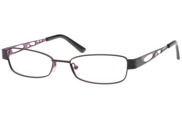 Exces 3071 Eyewear Frame, 690 Matte Black-Purple