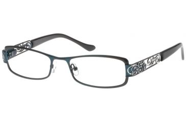 Exces Princess P105 Eyewear with Navy-Silver Frame 772