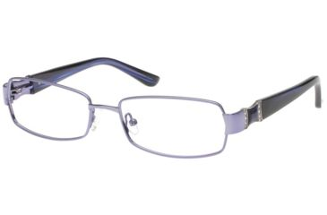 Exces Womens Princess 110  Eyeglasses - Blue Frame w/ Clear Lenses, Size 52-16-135, 52-16-135 P110-311