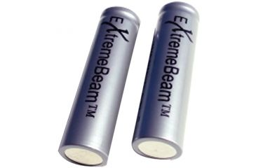 ExtremeBeam 18650 Rechargeable Battery 2B, Gray, N/A EB-XA-A02