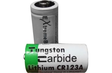 ExtremeBeam 3.0v CR123 Non-Rechargeable Lithium Battery 2B, Green, N/A EB-XB-A07