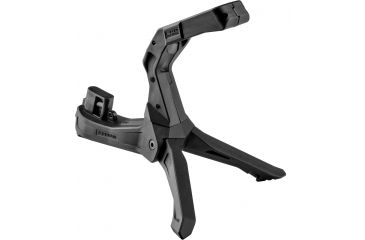5-FAB Defense AR-15 Quick Deployment Bipod with an Integrated AGR-43 Pistol Grip