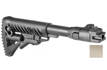 3-FAB Defense M4 Folding, Collapsible Buttstock for AK47