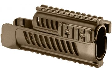 FAB Defense Vz58 Set Of Lower And Upper Handguards, OD SA-58 (T)