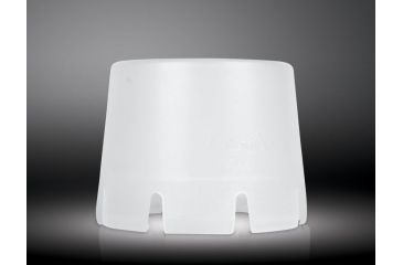 1-Fenix AOD-L Diffuser Tip for 63mm Diameter LED Flashlights - Works with TK40, TK41, and TK60, Clear Frost