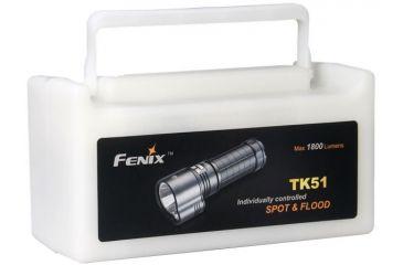 Fenix Flashlight 1800 Lumens- Black TK51L2BK