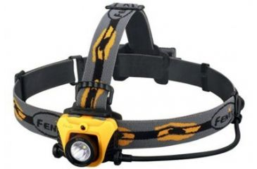 Fenix HP05 CREE XP-G R5 LED Headlamp, 350 Lumens, Orange, Runs on 3x AA, with NiMH/Alkaline Batteries FENIX-HP05-XPGR5-ORANGE