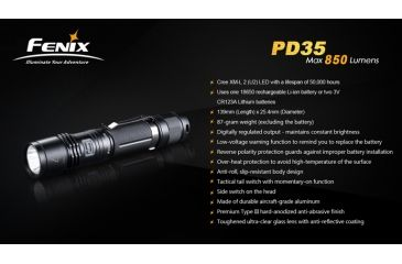 8-Fenix PD35 LED Flashlight