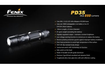 7-Fenix PD35 LED Flashlight