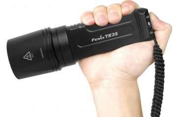 Fenix TK35 820 Lumens High-Output Flashlight, Black - F.TK35