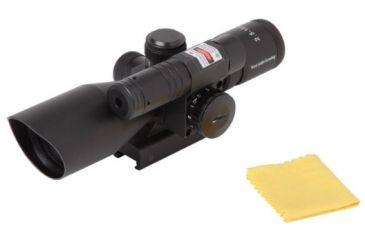 Firefield 2.5-10x40 Riflescope w/ Green Laser FF13014