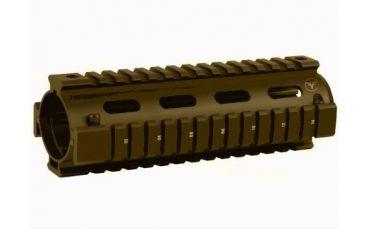 Firefield Carbine 6.7 Inch Quad Rail Dark Earth FF34001DE
