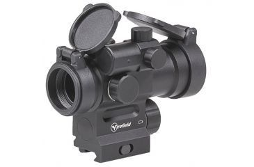 5-Firefield Impulse 1x30 Red Dot Sight with Red Laser
