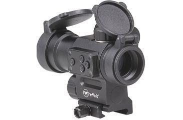 6-Firefield Impulse 1x30 Red Dot Sight with Red Laser