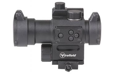 9-Firefield Impulse 1x30 Red Dot Sight with Red Laser