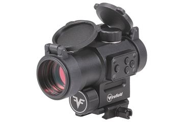 2-Firefield Impulse 1x30 Red Dot Sight with Red Laser