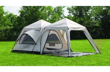 First Gear Twin Peaks Two-Room Cabin Dome Tent 66403 & First Gear Twin Peaks Two-Room Cabin Dome Tent | w/ Free Su0026H