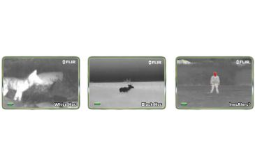 FLIR Scout PS-24 Thermal Imager - Viewing Options