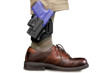 1-Fobus Ankle Holster for Glock 26/27/33 - Thumb Break Ankle Holster