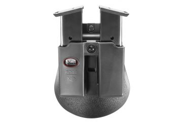 Fobus Double Mag Pouch 9mm Single Stack w/ Tension Adj. Screw /Kimber Solo/Beretta NANO/Taurus 709/Ruger LC9, Sig P239 and 239 SAS Gen 2,Paddle Holster 6911NDP