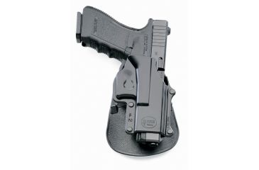 Fobus Glock 17, 19, 22, 23, 31, 32, 34, 35, Walther PK 380 Holster, Black, Left Hand GL2E2LH