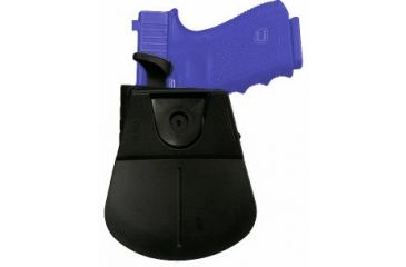 Fobus Level 2 Thumb Lever Holster for SIG Sauer 226 pistol - back shown with thumb lever