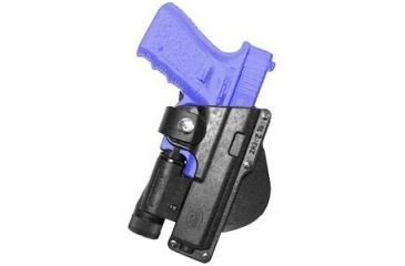 Fobus Roto Tactical Speed Holster - Glock 17,22,31 holds Handgun with Laser or Light, Ruger 345 holds Handgun with Laser or Light GLT17RB214