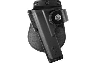 Fobus Roto Tactical Speed Paddle Holster, Black, Left Hand - Glock 19,23,32 w/Laser/Light