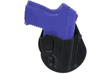 Fobus Standard Belt Right Hand Holsters - Taurus Millenium. NOTE: This product is a belt holster. This image shows the paddle version of this holster.