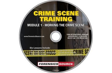 Forensics Source Crime Scene Training Module DVD- 1, Working the Crime Scene 1150482