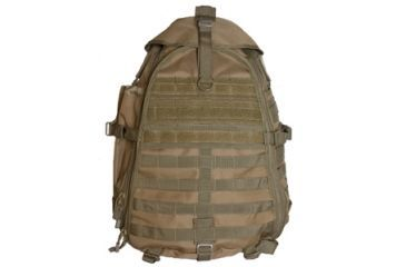Fox Outdoor Ambidextrous Teardrop Tactical Sling Pack, Coyote 099598566388