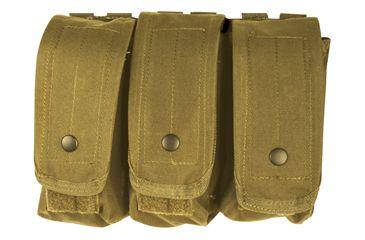 Fox Outdoor AR-15/AK-47 Triple Mag Pouch, Coyote 099598570385