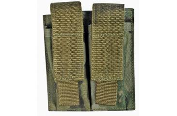 Fox Outdoor Dual Pistol Mag Pouch, Multicam 099598575526-1